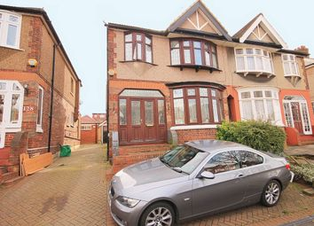 Thumbnail 4 bed semi-detached house for sale in Herent Drive, Clayhall, Ilford