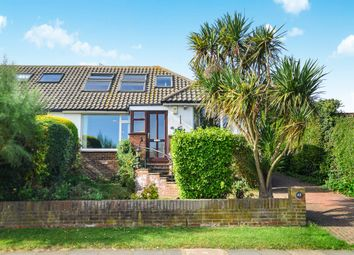 Thumbnail 3 bed bungalow for sale in Westmeston Avenue, Saltdean, Brighton