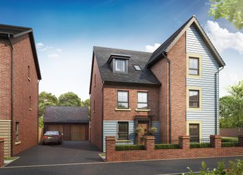 "Thumbnail 4 bed semi-detached house for sale in ""Rochester"" at Beggars Lane, Leicester Forest East, Leicester"