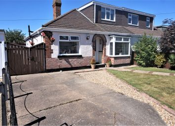 Thumbnail 3 bed semi-detached bungalow for sale in Eastfield Avenue, Scartho