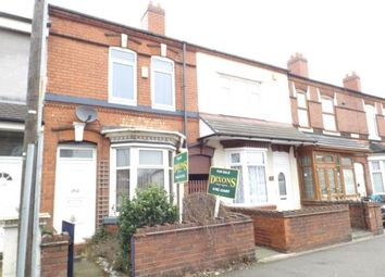 Thumbnail 2 bedroom property for sale in Walsall Road, Wednesbury, West Midlands