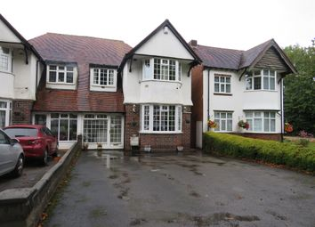 Thumbnail 4 bed semi-detached house for sale in Highfield Road, Hall Green, Birmingham