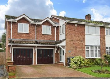 Thumbnail 4 bed semi-detached house for sale in Chillington Drive, Codsall, Wolverhampton