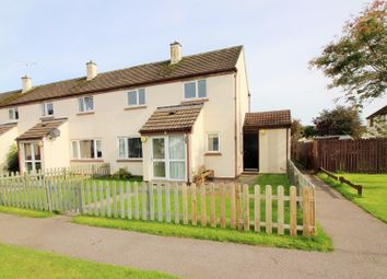 Thumbnail 2 bed end terrace house for sale in Central Avenue, Kinloss, Forres