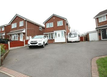 Thumbnail 3 bedroom detached house for sale in Minerva Close, Knypersley, Biddulph