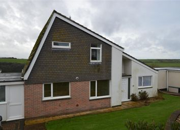Thumbnail 4 bed detached house for sale in Trethewey Way, Newquay, Cornwall