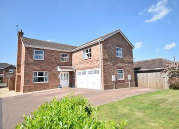 Thumbnail 5 bed detached house for sale in The Rowans, Saxilby, Lincoln