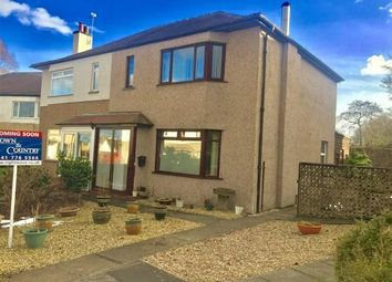 Thumbnail 3 bed semi-detached house for sale in Church Drive, Lenzie, Glasgow