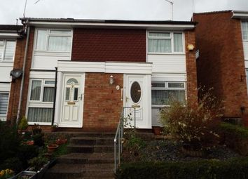 Thumbnail 2 bed end terrace house for sale in Chartwell Close, Waltham Abbey, Essex