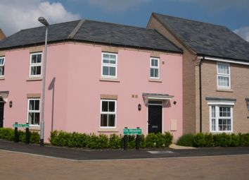 Thumbnail 2 bed terraced house to rent in Ox Meadow, Bottisham, Cambridge