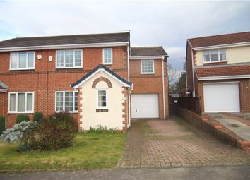 Thumbnail 4 bed semi-detached house for sale in Meadow Green, Spennymoor, Durham