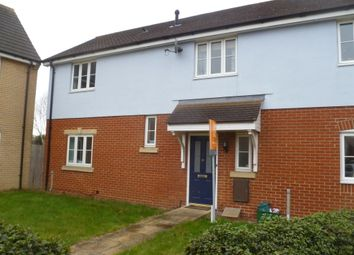 Thumbnail 3 bed end terrace house to rent in Gratian Close, Highwoods, Colchester