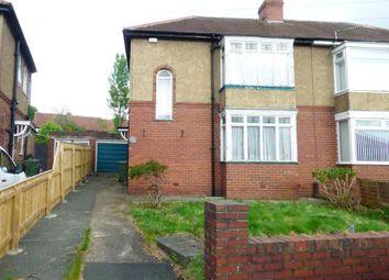 Thumbnail 2 bed semi-detached house for sale in Calderwood Crescent, Gateshead