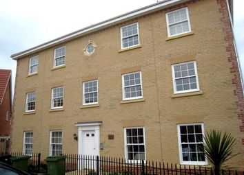 Thumbnail 1 bed flat to rent in Bromedale Avenue, Mulbarton, Norwich