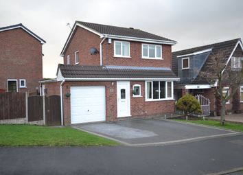 Thumbnail 3 bed detached house for sale in Cavendish Grove, Clayton, Newcastle-Under-Lyme