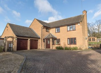 Thumbnail 4 bed detached house for sale in Hunsbury Close, West Hunsbury, Northampton