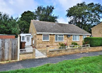 Thumbnail 2 bed semi-detached bungalow for sale in Hadley Crescent, Heacham, King's Lynn