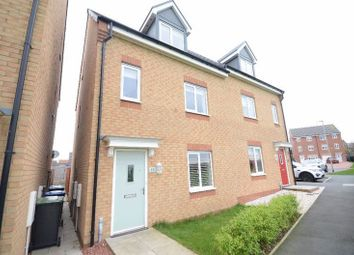 Thumbnail 4 bed semi-detached house for sale in Mariners Way, Seaham