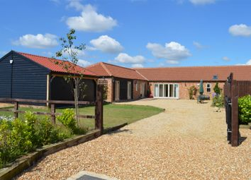 Thumbnail 3 bed barn conversion for sale in High Road, Islington, King's Lynn