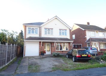 Thumbnail 4 bed detached house for sale in Woodlands Drive, Shepshed, Leicestershire