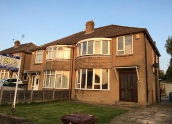 Thumbnail 3 bed semi-detached house to rent in Carr Manor Drive, Moortown, Leeds