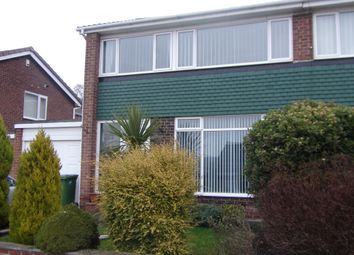 Thumbnail 3 bed semi-detached house for sale in Cramond Court, Gateshead