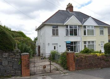 Thumbnail 3 bedroom semi-detached house for sale in Dunvant Road, Killay, Swansea