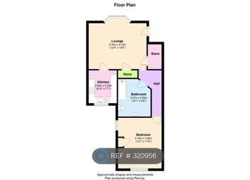 Thumbnail 1 bed flat to rent in Binns Road, Liverpool