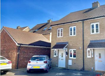 Thumbnail 2 bed end terrace house for sale in Lawyers Close, Holbeach
