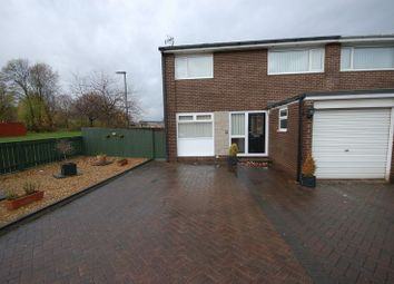 Thumbnail 3 bedroom semi-detached house for sale in Flodden, Killingworth, Newcastle Upon Tyne