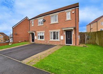 Thumbnail 2 bed semi-detached house for sale in Campion Close, Houghton Le Spring