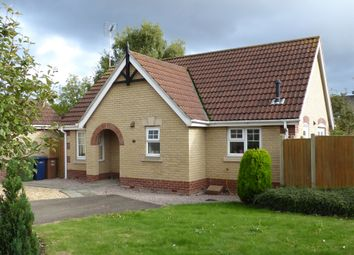 Thumbnail 2 bed detached bungalow for sale in Willowherb Close, March