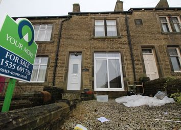 3 bed terraced house for sale in Denby Mount, Oakworth, Keighley BD22