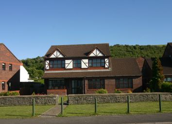 Thumbnail 4 bed detached house for sale in Greenacres, The Promonade, Penclawdd, Swansea
