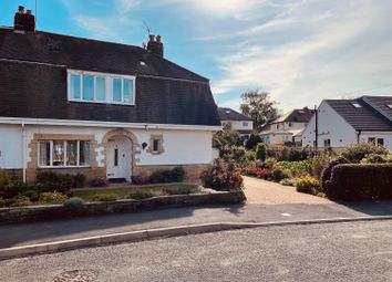 Thumbnail 3 bed semi-detached house for sale in Hill Crescent, Burley In Wharfedale, Ilkley