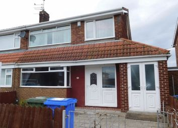 Thumbnail 3 bed semi-detached house to rent in Devonworth Place, Blyth
