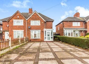 Thumbnail 3 bedroom semi-detached house for sale in Chestnut Road, Walsall