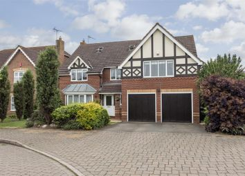 Thumbnail 6 bed detached house for sale in Imogen Gardens, Heathcote, Warwick