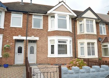 Thumbnail 3 bed terraced house to rent in Eversleigh Road, Coundon, Coventry