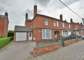 Thumbnail 3 bed semi-detached house for sale in High Street, Saxilby, Lincoln