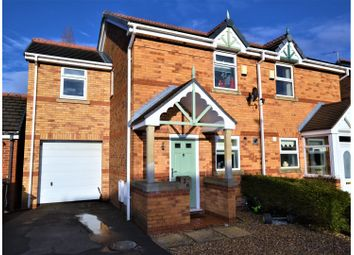 Thumbnail 3 bed semi-detached house for sale in Spinnerette Close, Leigh