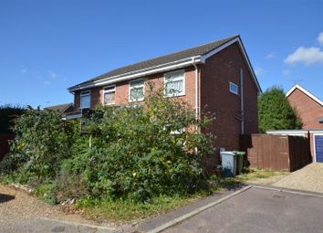 Thumbnail 3 bed semi-detached house for sale in Harrisons Drive, Norwich
