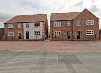 Thumbnail 3 bed semi-detached house for sale in Fieldside, Crowle, Scunthorpe