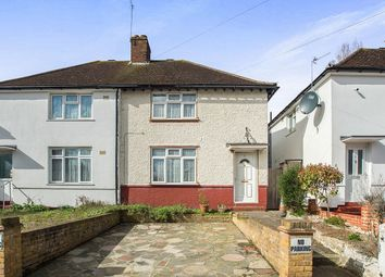 Thumbnail 3 bed semi-detached house for sale in Rosebery Road, Norbiton, Kingston Upon Thames