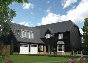 Thumbnail 5 bedroom detached house for sale in Baldock Road, Royston