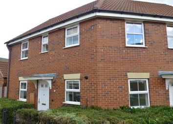 Thumbnail 2 bed maisonette for sale in Goldfinch Road, Uppingham, Oakham