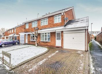 Thumbnail 3 bedroom semi-detached house for sale in Binbrook Road, Willenhall, West Midlands
