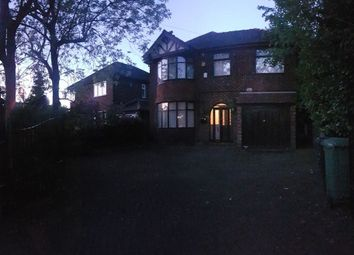 Thumbnail 4 bed detached house to rent in Styal Road, Heald Green