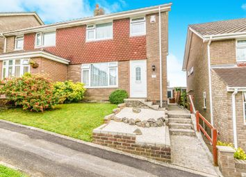 Thumbnail 3 bed semi-detached house for sale in Cherry Park, Plympton, Plymouth