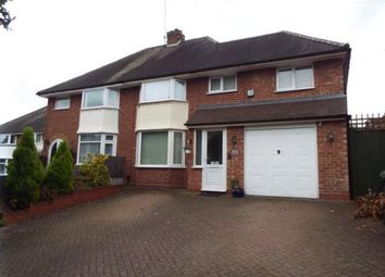 Thumbnail 4 bed semi-detached house for sale in Oakenshaw Road, Redditch, Worcestershire